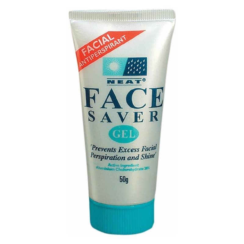 Neat Face Saver tegen zweet in het gezicht