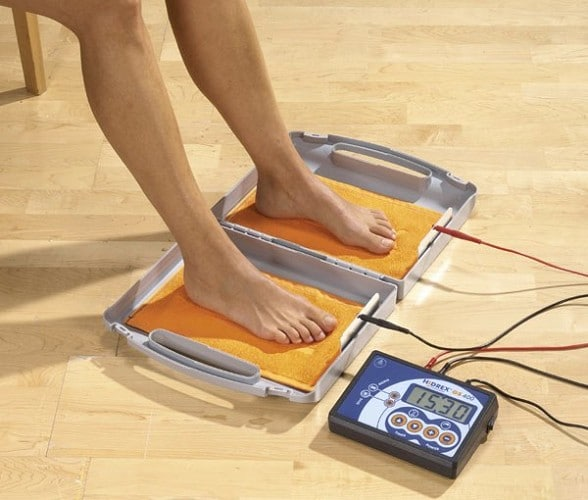 Iontoforese voor de voeten - sfeerafbeelding