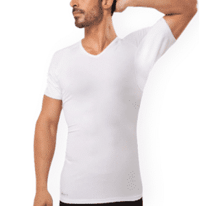 Fibershirt anti-zweet shirt heren wit