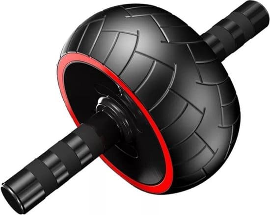 Ab wheel-Buikspierwiel ab wheel 5-in-1 buikspiertrainer met een kniemat