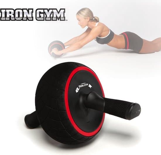 Iron Gym Speed Abs Trainingswiel Buikspierwiel - Buikspieroefeningen